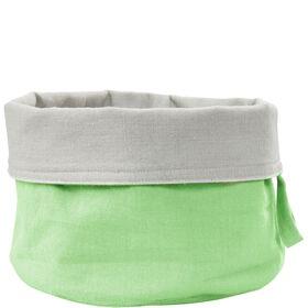 SPHERE Brotkorb Baumwolle pastell grün