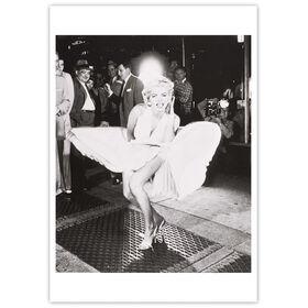 CARD Marilyn Monroe, 1954