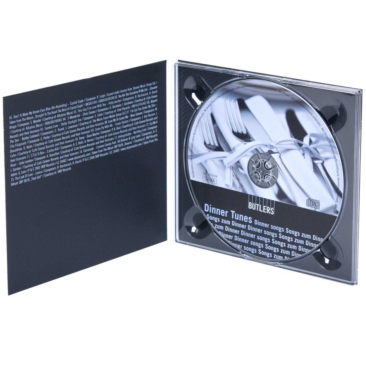 DINNER TUNES CD Songs zum Dinner
