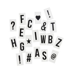 BLOCKBUSTER Extra-Buchstaben für Mini-LB