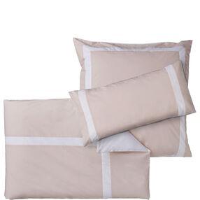 NEW HAVEN Bettwäsche beige-weiß