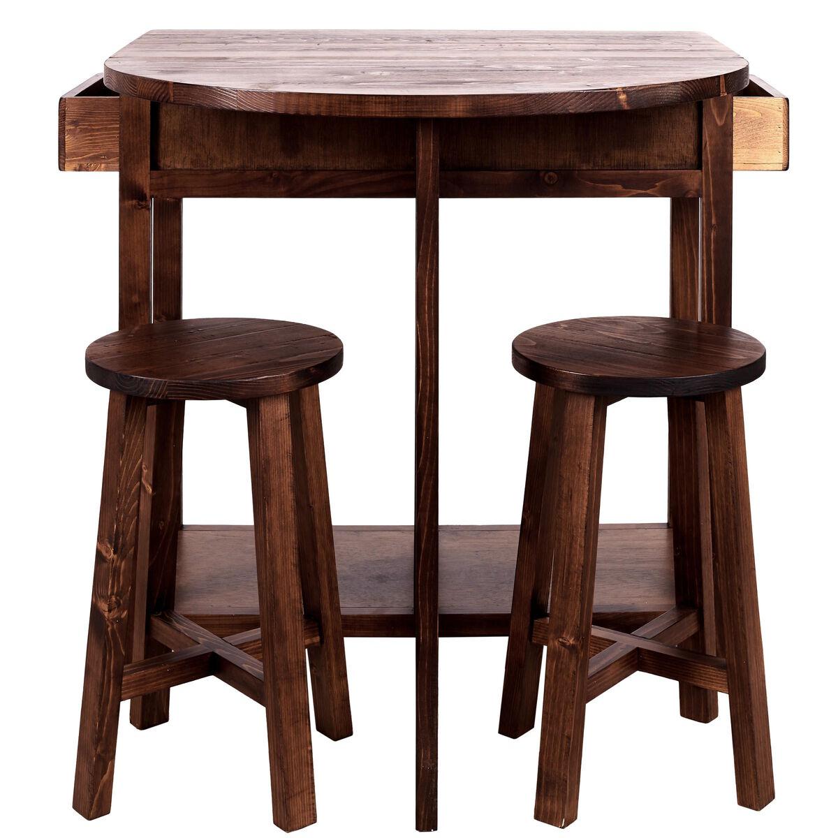 chairlock klapptisch mit 2 hockern butlers. Black Bedroom Furniture Sets. Home Design Ideas