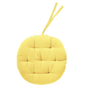 SOLID Stuhlkissen 42 cm pastell gelb