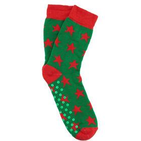 COZY SOCKS Socke Stern grün 39-42