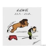 LORIOT Kühlschrankmagnet Löwe