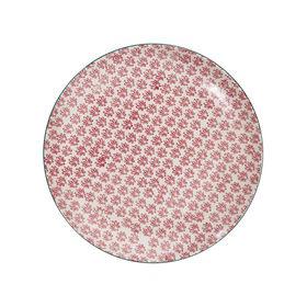 RETRO Essteller Ø 25,4 cm rot