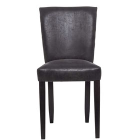 GOOD FELLOW Stuhl schwarz, vintage