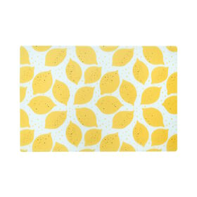 LEMON Tischset gelb