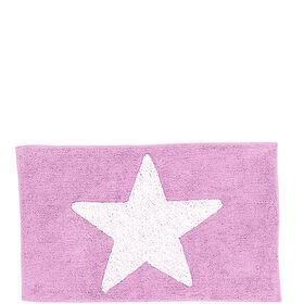 MIAVILLA Badematte Star rosa 70x120cm