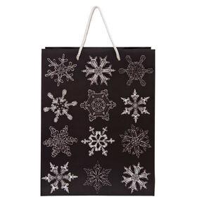 X-MAS Geschenktasche Snowflake groß