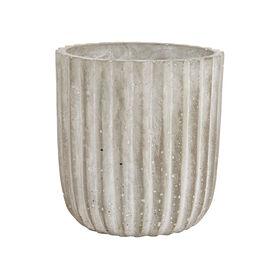 CUBIST Beton-Pflanztopf 13cm, grau
