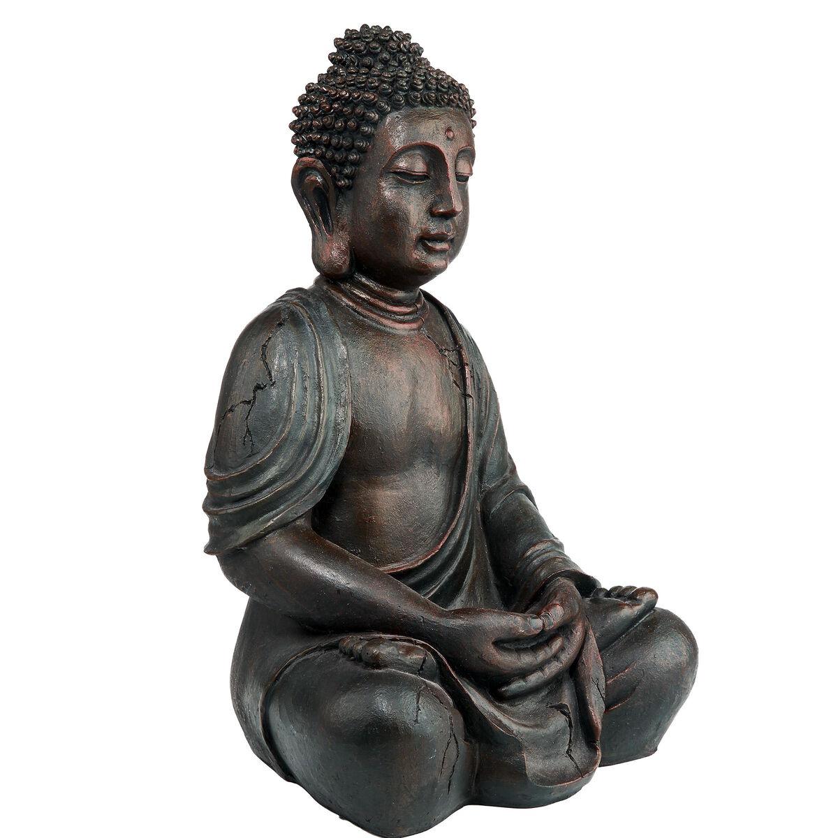 Buddha deko figur braun 50cm butlers for Buddha figur