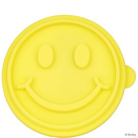 BISCUIT Keksstempel Smiley gelb