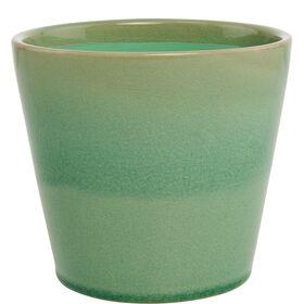 GLAZE Blumentopf mintgrün 12,5cm