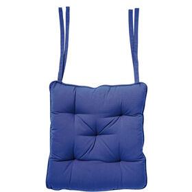 SOLID Sitzkissen 35x37 blau