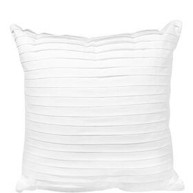 WHITE DELIGHT Kissen überlappend 40x40cm