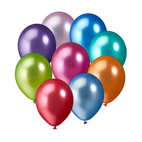 UPPER CLASS 10er Ballon Set metallic Lar