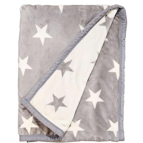 stars flanell decke sterne grau/weiß | butlers, Moderne deko