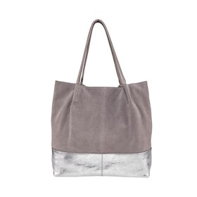 BOUTIQUE Shopper, grau/silber