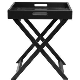 SIDEKICK Standtablett schwarz 40x40x47cm