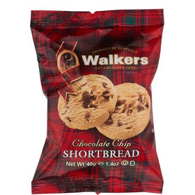 WALKERS Chocolate Chip Shortbread 2er40g