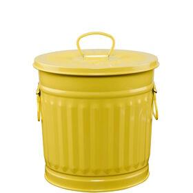 ZINC Zinkmülleimer 22 cm gelb
