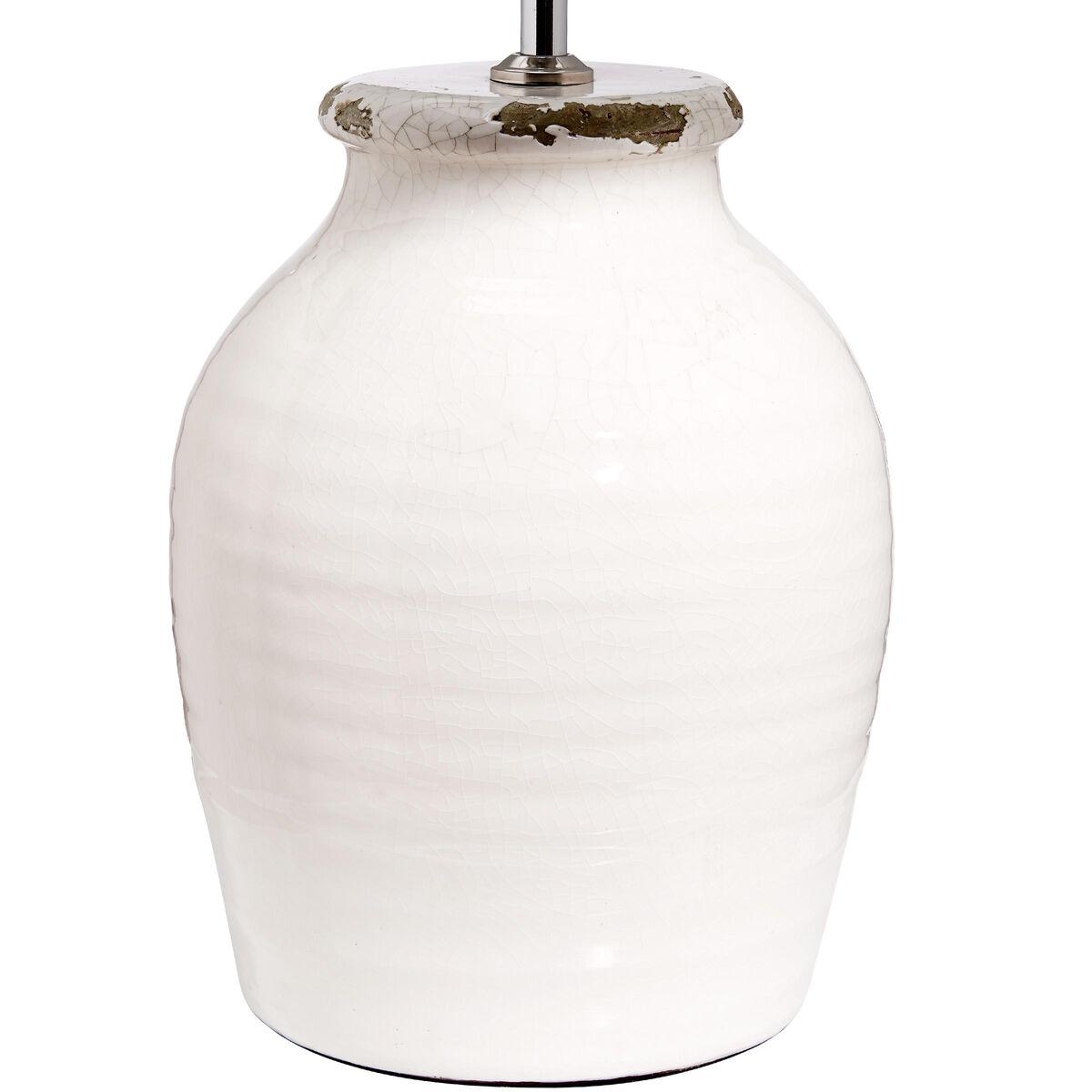 Potter tischleuchte keramik wei butlers - Keramik tischleuchte ...