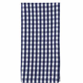 VICHY Serviette 45x45cm blau