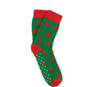 COZY SOCKS Socke Stern grün 35-38