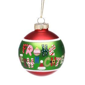 "HANG ON Kugel ""Frohe Weihnachten"" 6cm"