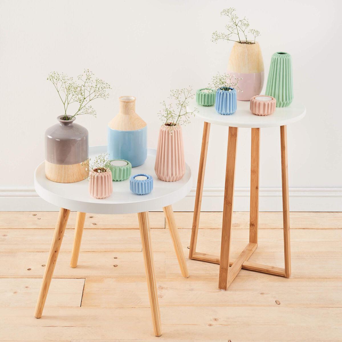 SPHERE Vase 18cm  hellblau
