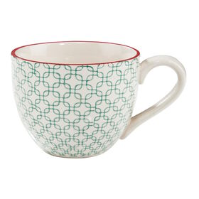 RETRO Tasse 550 ml h'blau