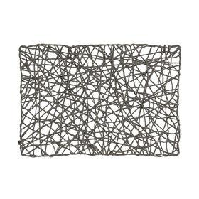 SCATTERS Tischset Papier gedreht anthra