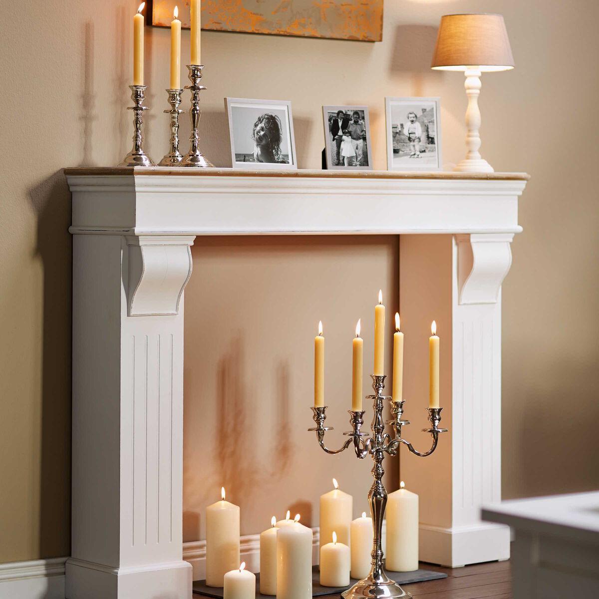 masterpiece kaminumrandung butlers. Black Bedroom Furniture Sets. Home Design Ideas