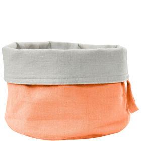 SPHERE Brotkorb Baumwolle pastell orange
