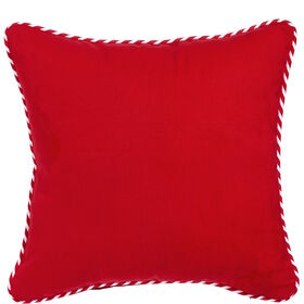 CANDY CANE Kissen Candy Cane rot 40x40cm