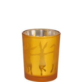 """DELIGHT Teelichthalter """"Hase"""", gelb"""