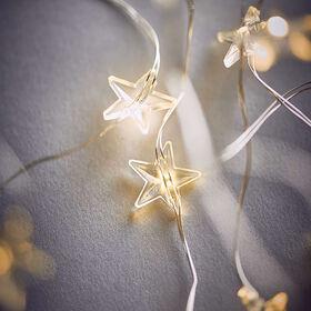 STAR LIGHTS LED LK Draht-Sterne 50L