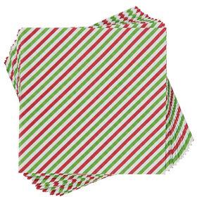 APRÈS Papierserviette Candy Cane rot/grü