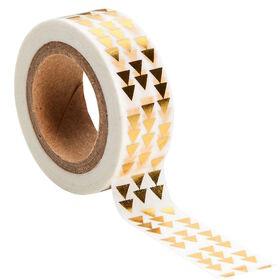 TAPE bedrucktes Klebeband Dreiecke gold