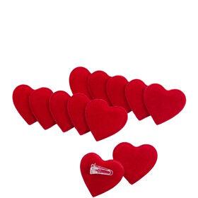 LOVE Herzchen Clips 12 Stk.