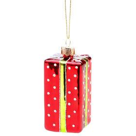HANG ON Anhänger Geschenk rot/grün, 7cm