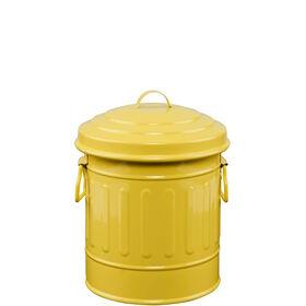ZINC Zinkmülleimer  12 cm gelb