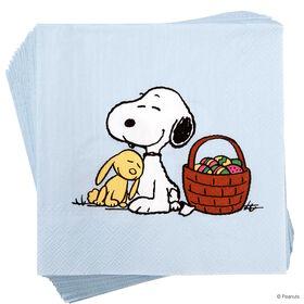 PEANUTS Papierserviette Snoopy und Hase