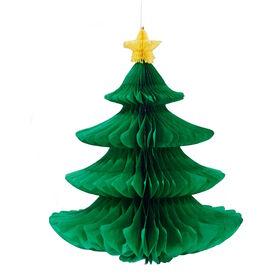 X-MAS Papierdeko Weihnachtsbaum 18cm