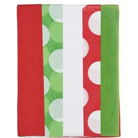 SURPRISE Seidenpapier 5er Set grün