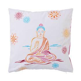 MANDALA Kissen Buddha 40x40 cm bestickt