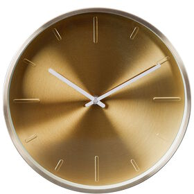 WALL COUTURE Wanduhr gold Ø28cm