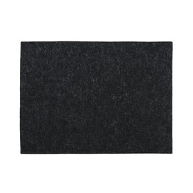 FELTO Tischset 33x45cm schwarz melange