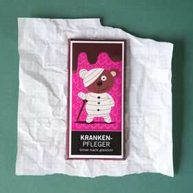 "GREETS ""Krankenpfleger"" Schokolade 100g"